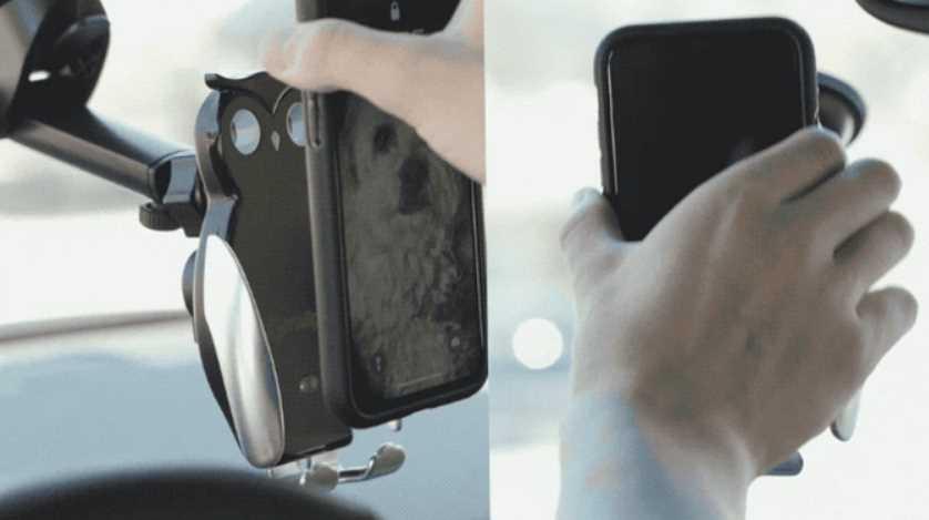 Mallper, una excelente solución para ver y cargar el móvil en el coche