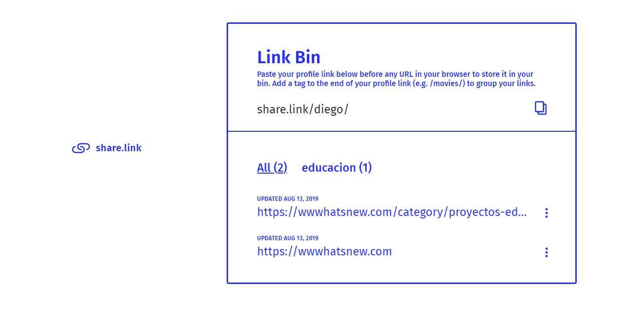 Una excelente forma de guardar y clasificar enlaces