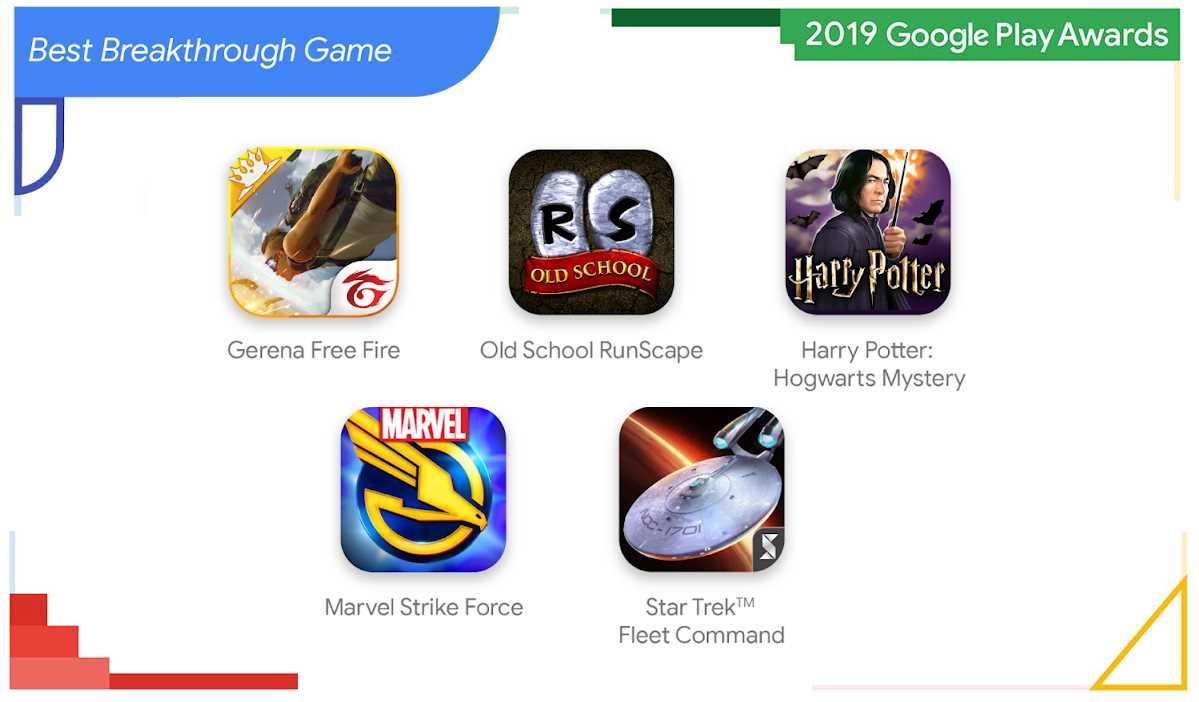 Los juegos más atractivos del 2019, según Google