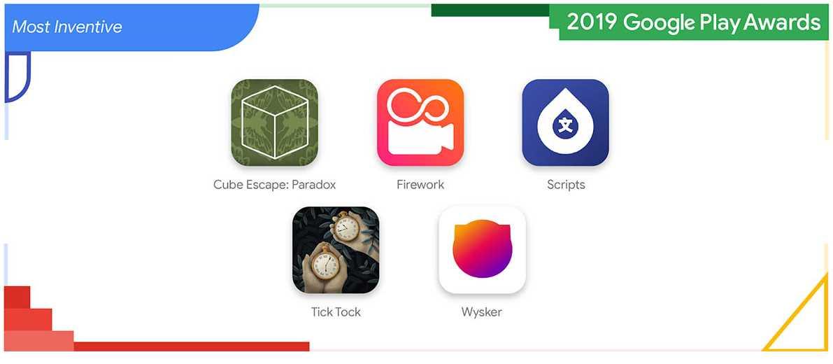 Las mejores aplicaciones de innovación según Google Play