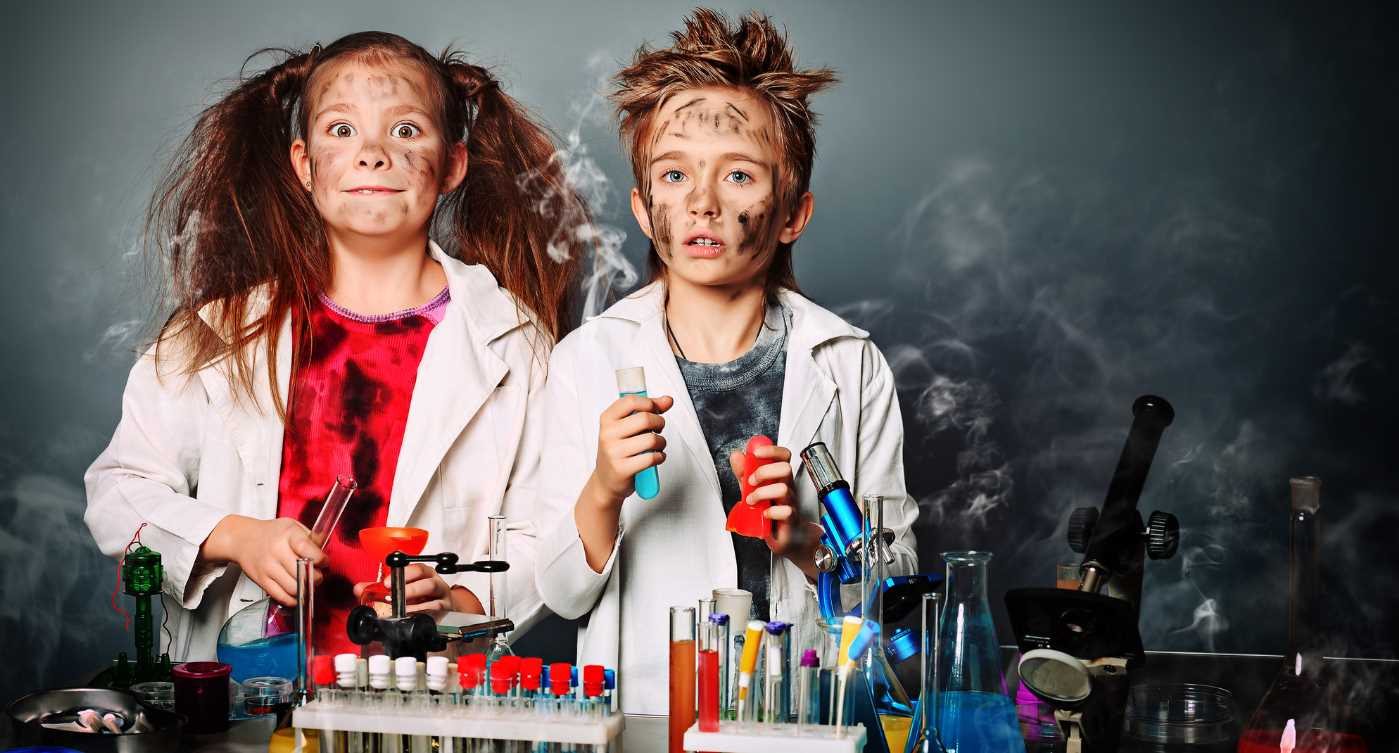 20 experimentos científicos para hacer con niños