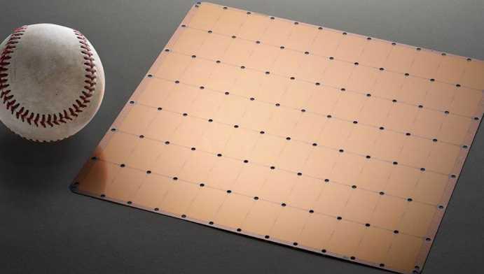 Un chip del tamaño de un iPad, para la Inteligencia Artificial