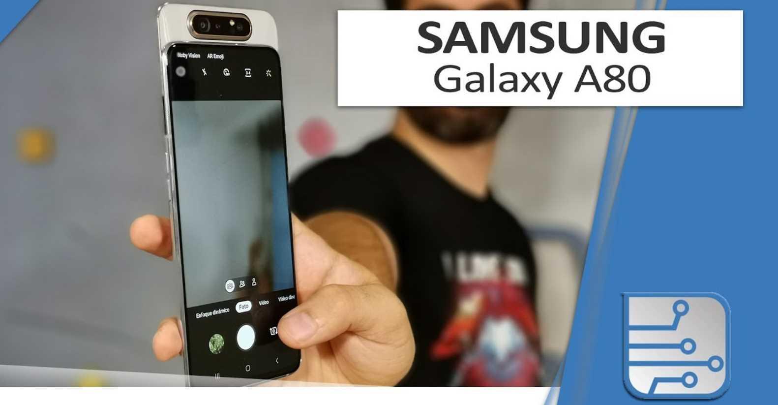 Samsung Galaxy A80, os explicamos cómo es esa cámara reversible