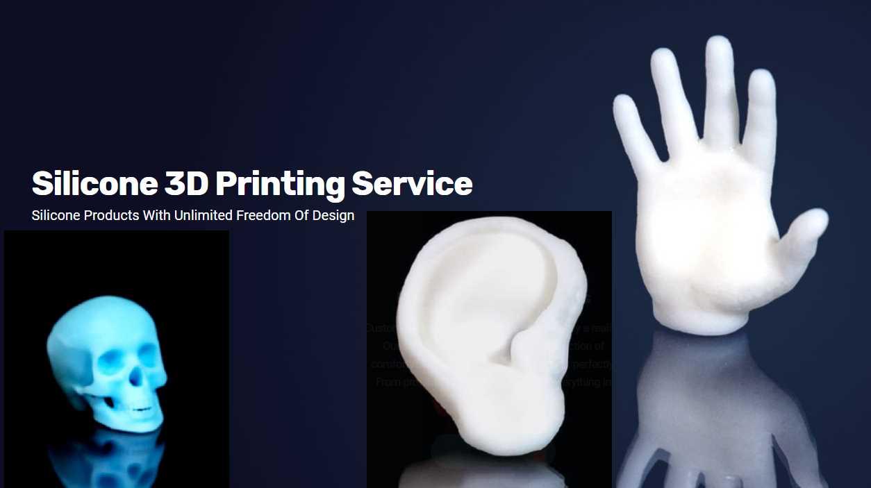 Impresión 3D con silicona para uso en la medicina