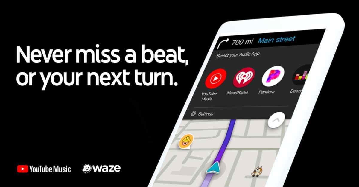 YouTube Music se integra en Waze mientras YouTube cerrará su función Mensajes
