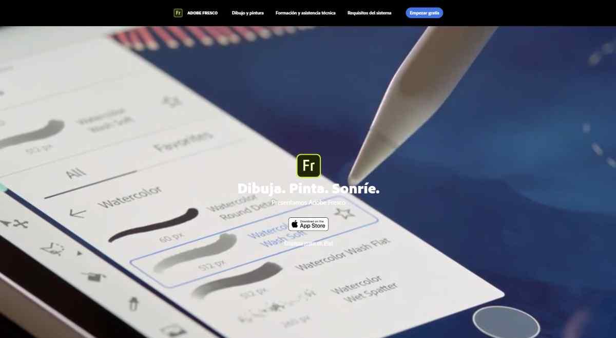 Llega oficialmente Adobe Fresco, la herramienta de dibujo y pintura de Adobe: así puedes conseguirla