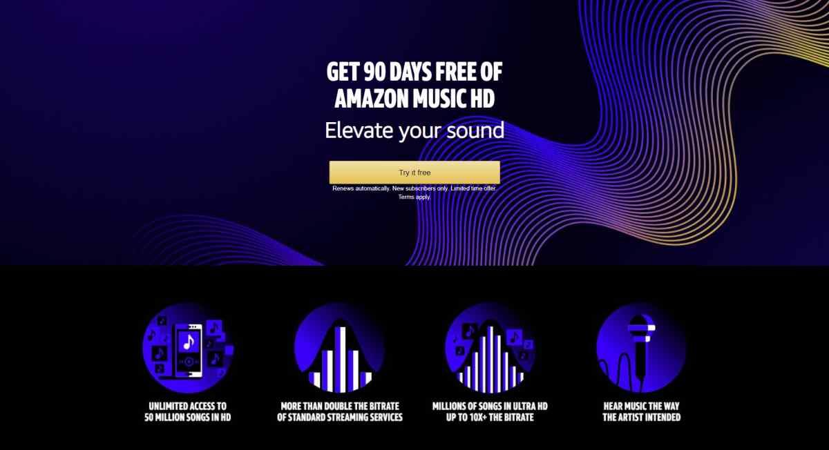 Llega Amazon Music HD, el nuevo servicio de transmisión musical de calidad superior de Amazon