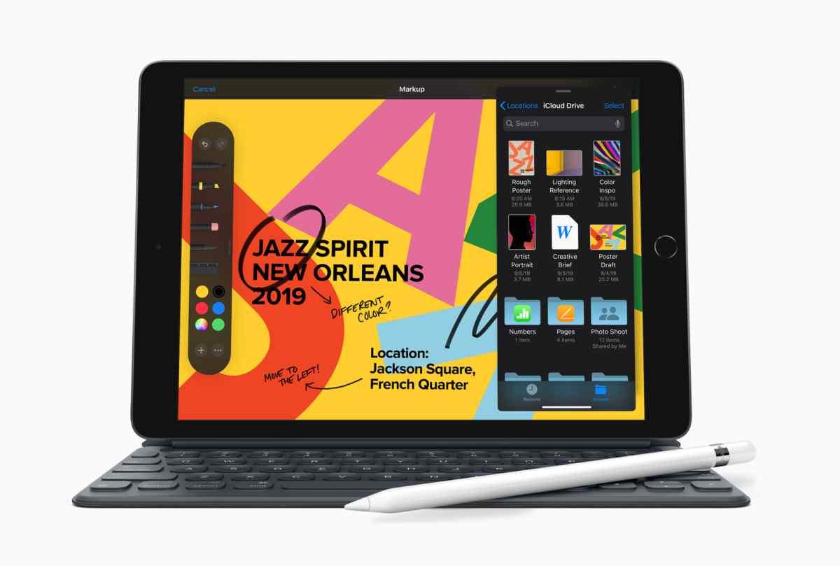 Apple presenta al nuevo iPad con pantalla retina de 10,2″