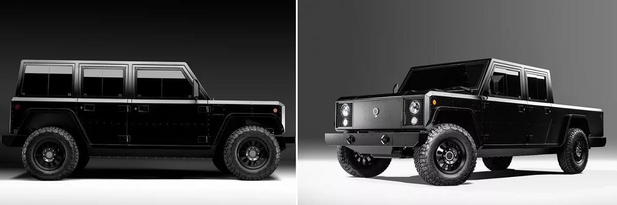 Bollinger B1 y B2, las camionetas eléctricas tipo Jeep y Pickup que buscan financiación