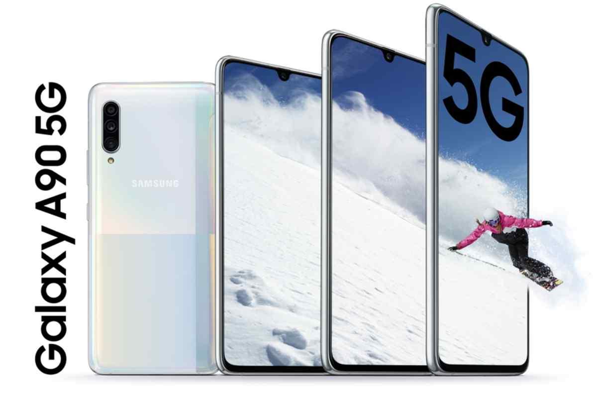 Así es el nuevo Galaxy A90 5G, el nuevo teléfono Android con conectividad 5G de Samsung