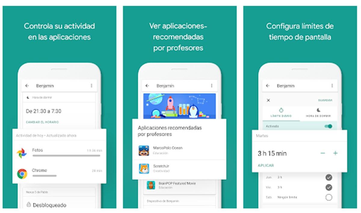 Google suma más funciones a su app de control parental