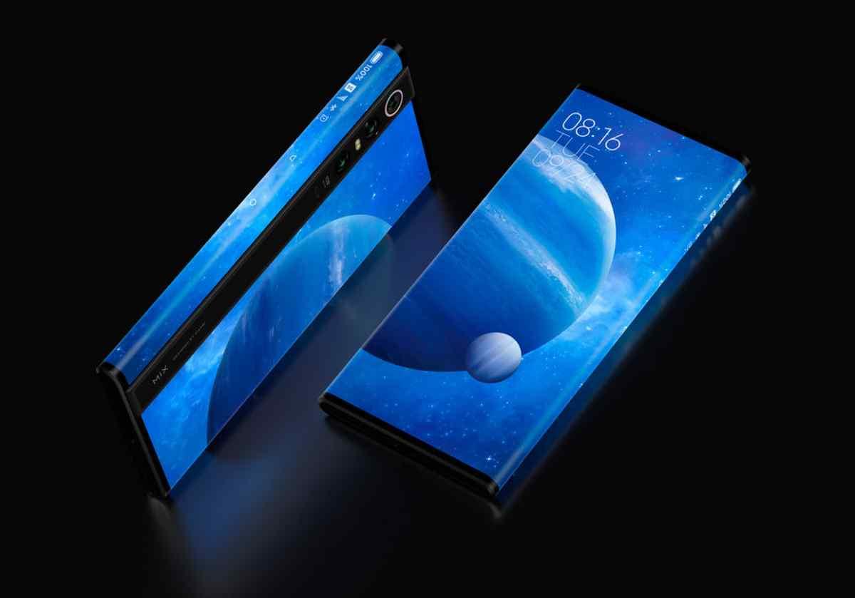 Así es Mi Mix Alpha, el innovador teléfono de Xiaomi que es casi todo pantalla
