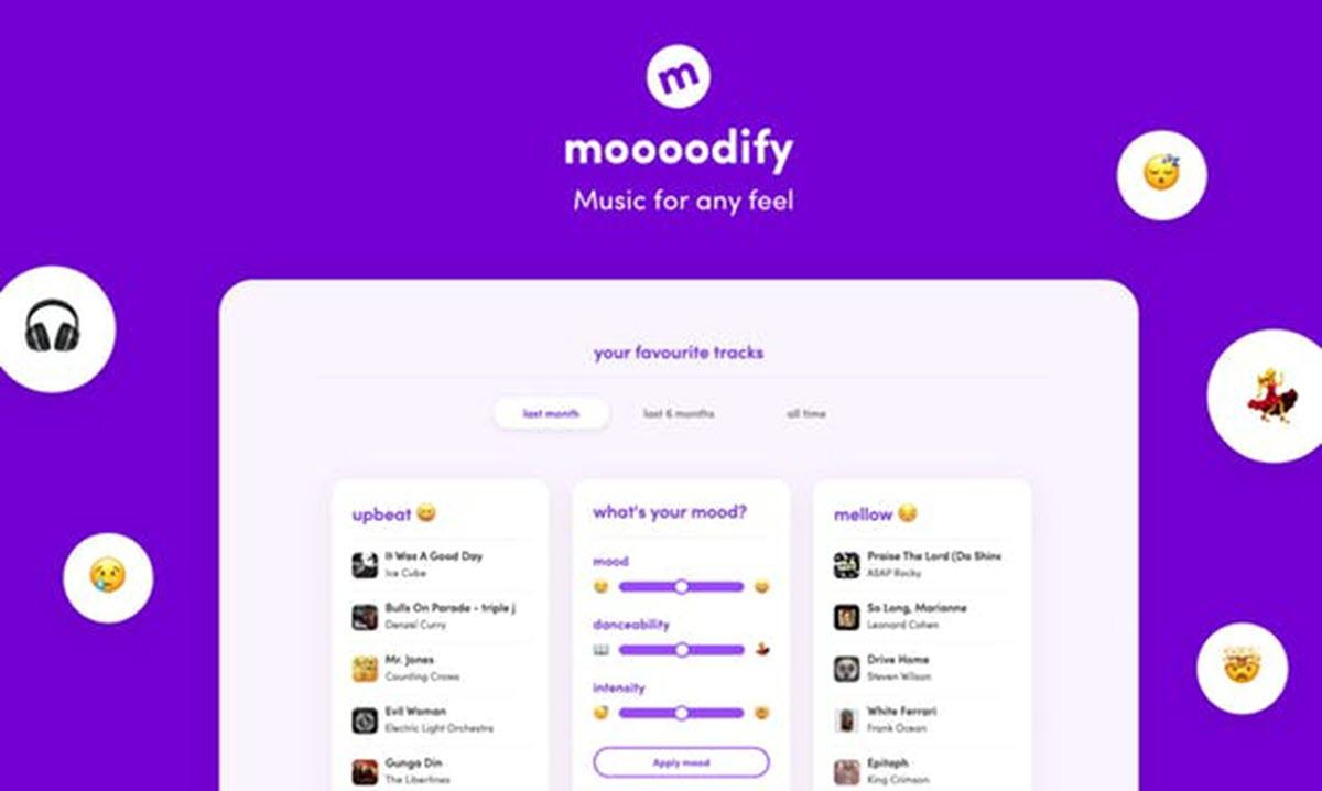 Una app que ordena tu música de Spotify según tu estado de ánimo