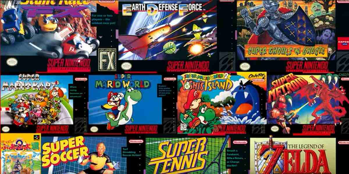 20 juegos clásicos de SNES disponibles en Nintendo Switch