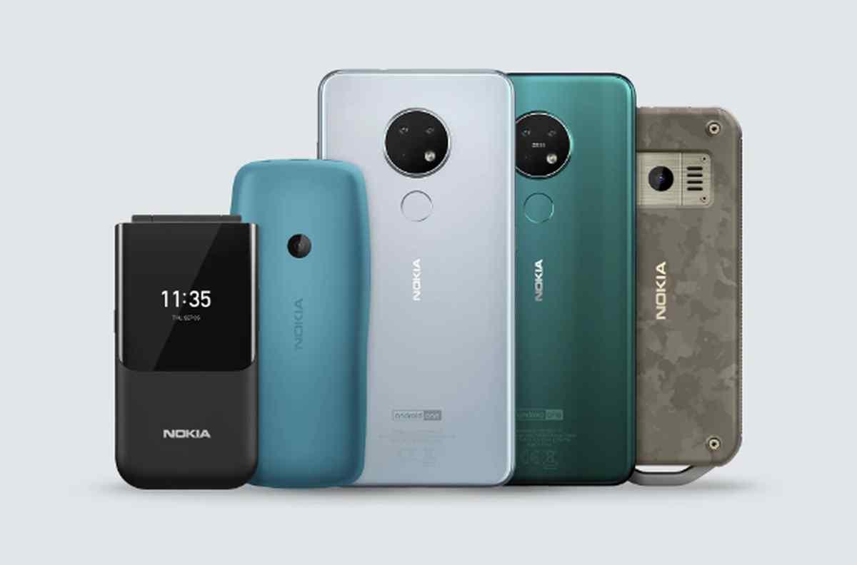 Estos son los cinco nuevos teléfonos Nokia presentados hoy