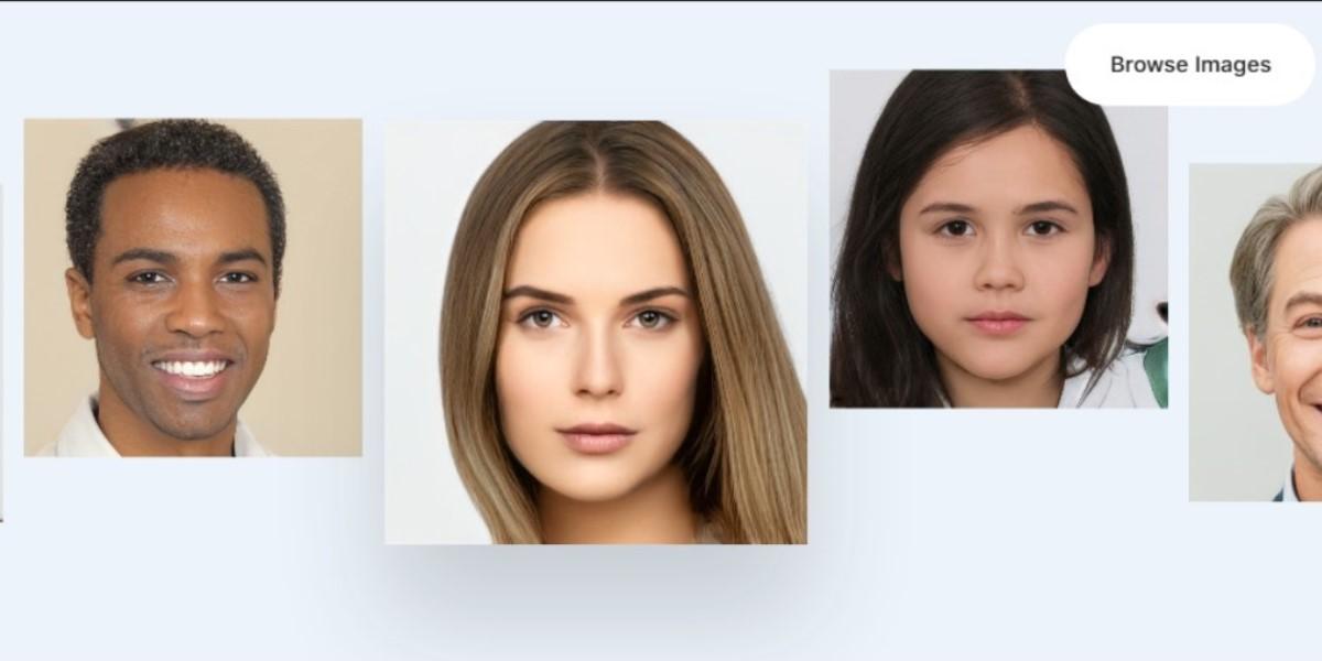 Página web pone a disposición 100 mil imágenes de rostros para ser descargadas gratis