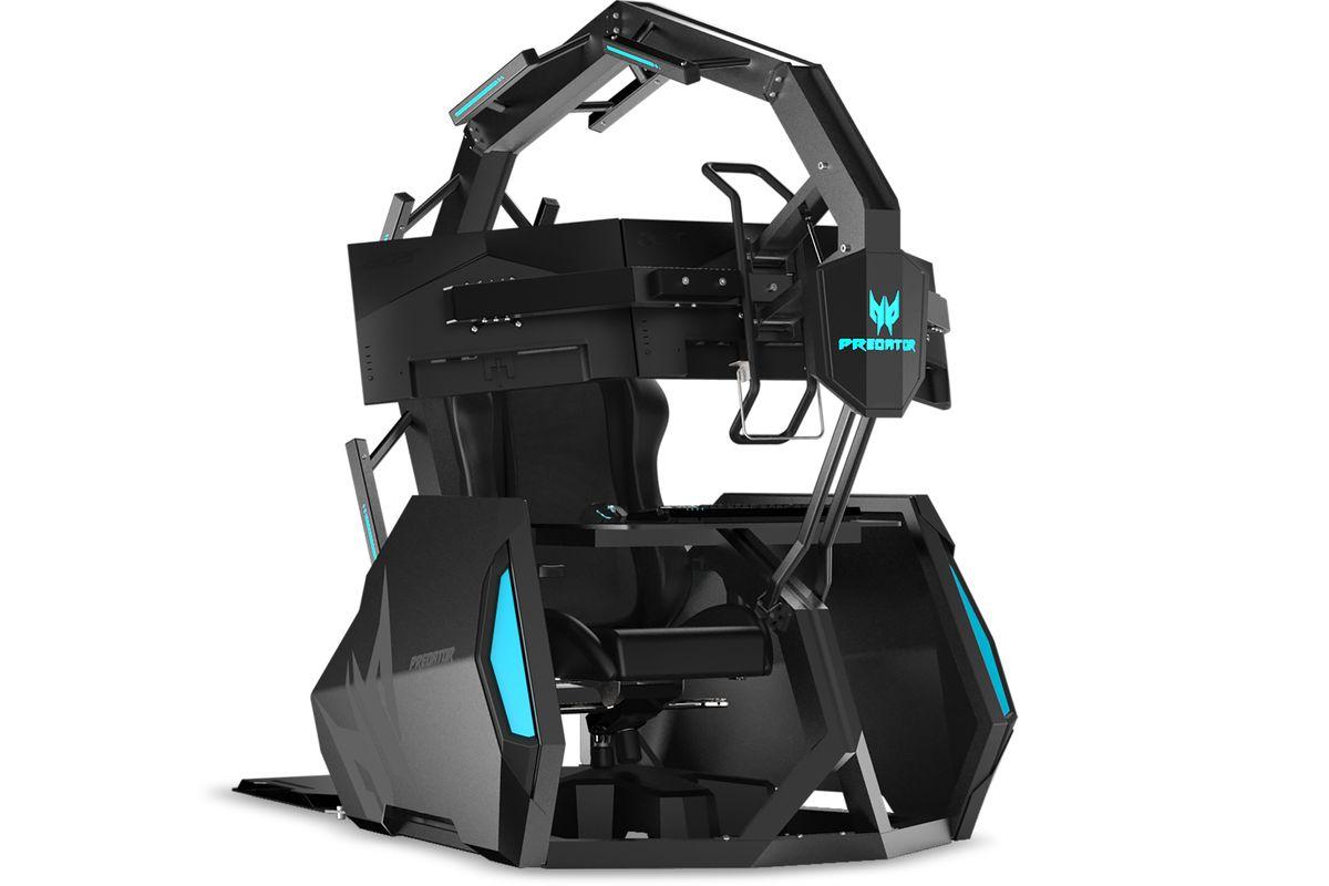 Acer presenta nueva silla gamer de más de 12.000 euros, la mitad que la anterior