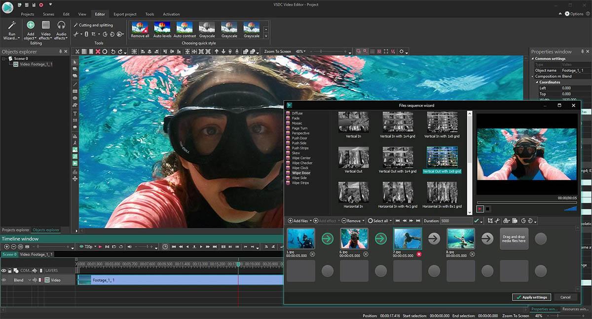 VSDC Vídeo Editor