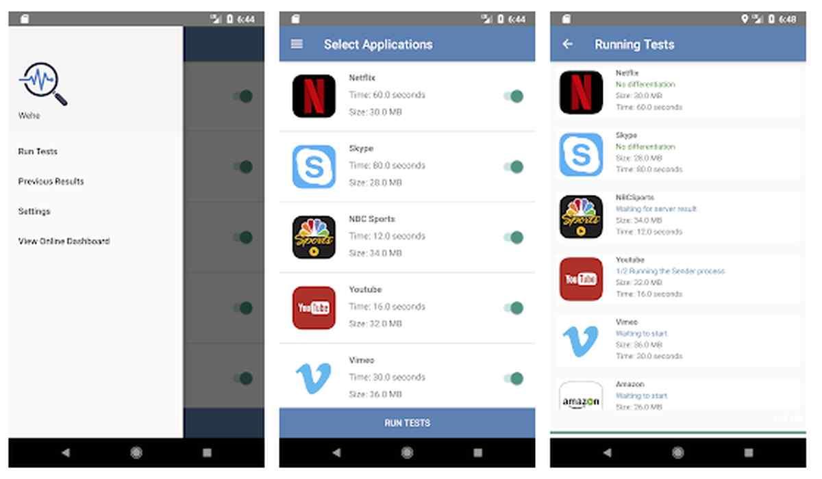 Esta aplicación nos dirá si nuestro proveedor de datos móviles nos ralentiza Netflix u otros servicios