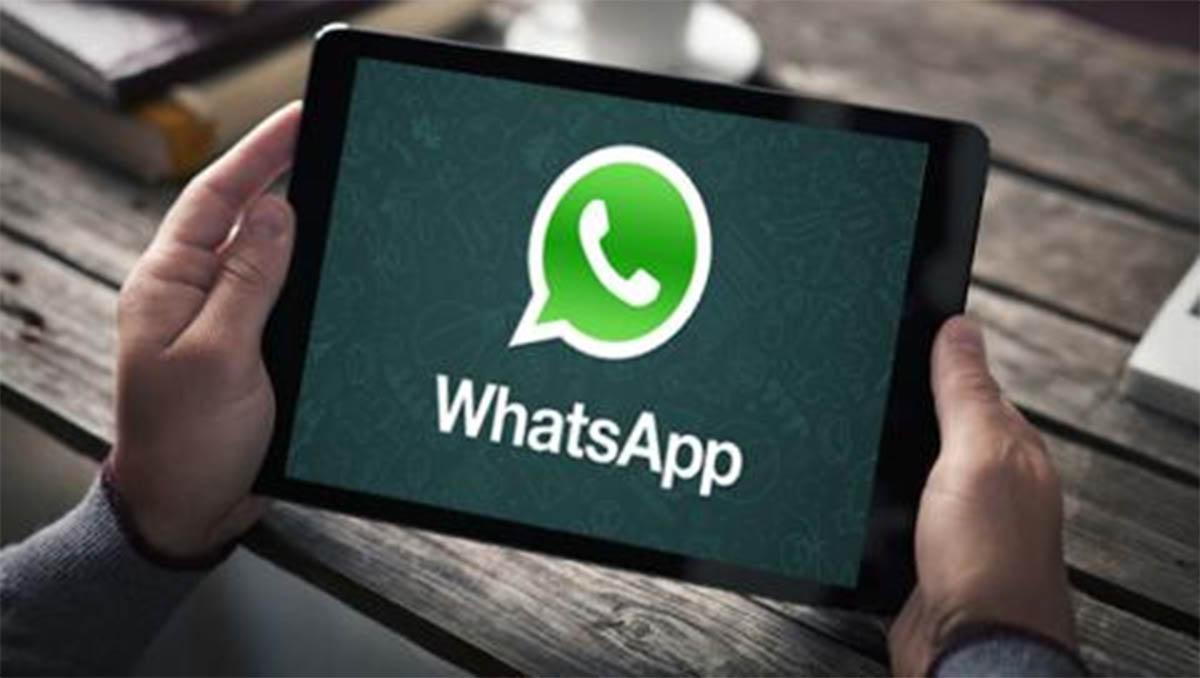 Cómo usar WhatsApp en una tablet sin chip