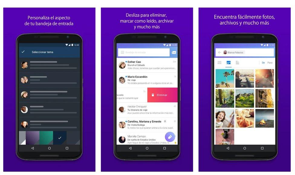 Yahoo rediseña su app de Email con vistas de suscripciones, adjuntos, viajes y más