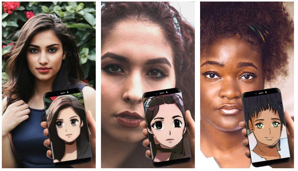 Sobre las apps que transforman nuestra cara en anime