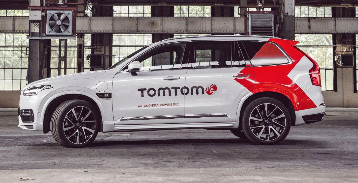TomTom presenta un coche autónomo para mejorar sus mapas HD