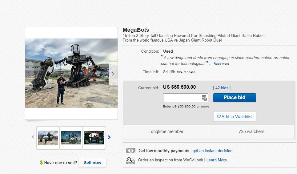 megabot en ebay