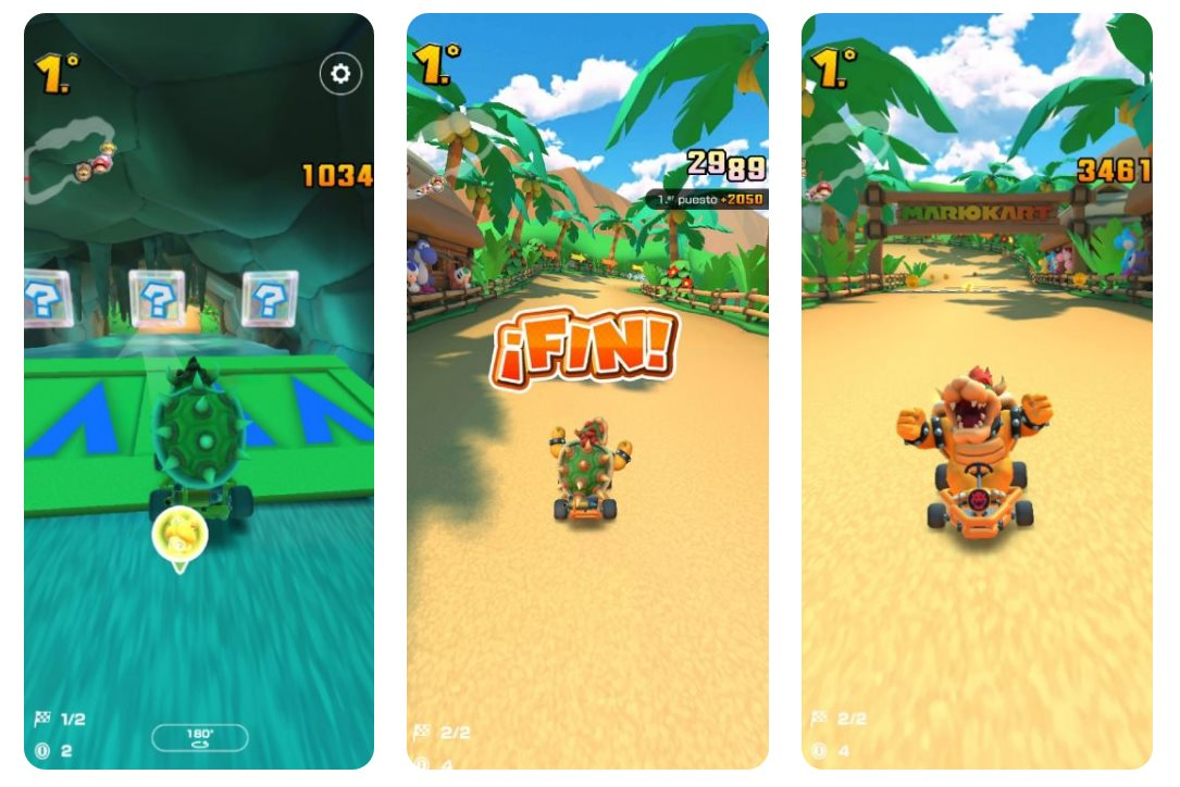 Mario Kart Tour llega a android e iOS
