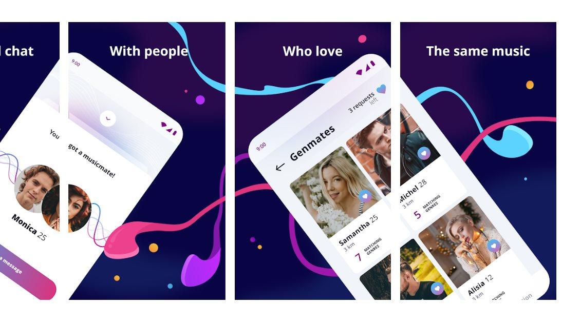 beat2beat, una app de citas que une a las personas con el mismo gusto musical