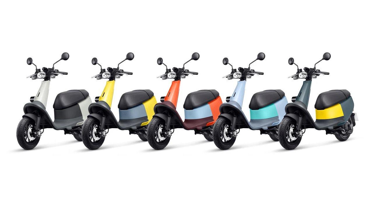 Así son los nuevos vehículos eléctricos de la taiwanesa Gogoro