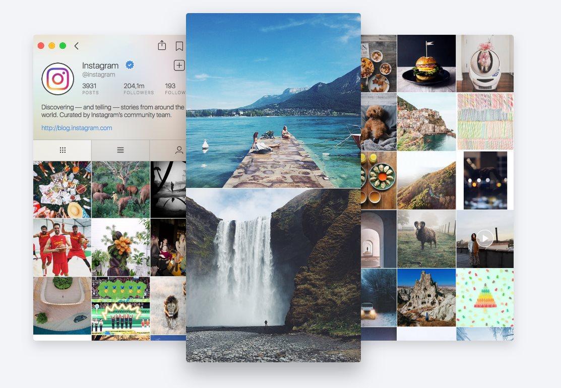 Flume, una elegante forma de disfrutar de Instagram desde un Mac