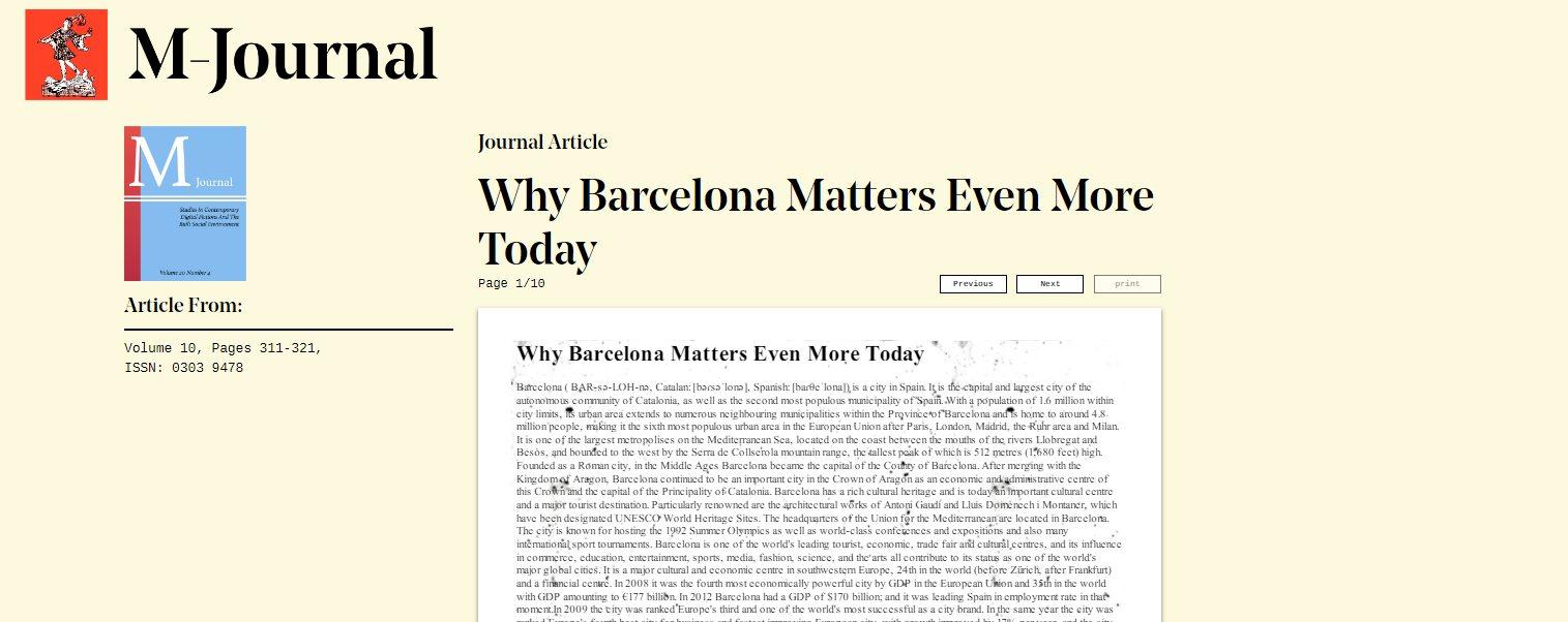 Una web para engañar a profesores transformando artículos de Wikipedia