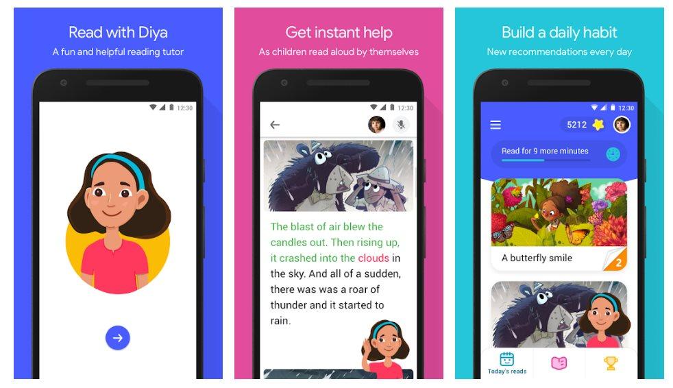 Bolo, la aplicación de Google que enseña a leer a los niños