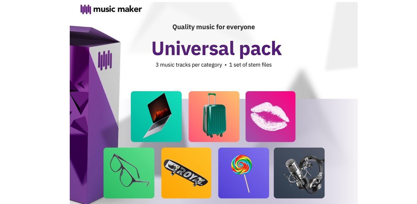 musicmaker ofrece música gratis para incluir en nuestros vídeos, podcast y demás proyectos