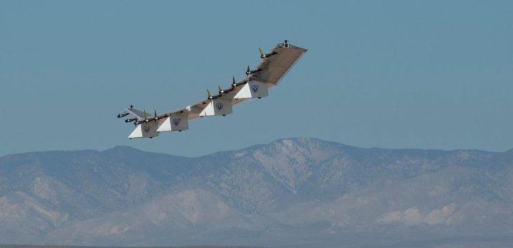 El drone solar de 80 metros supera una nueva prueba