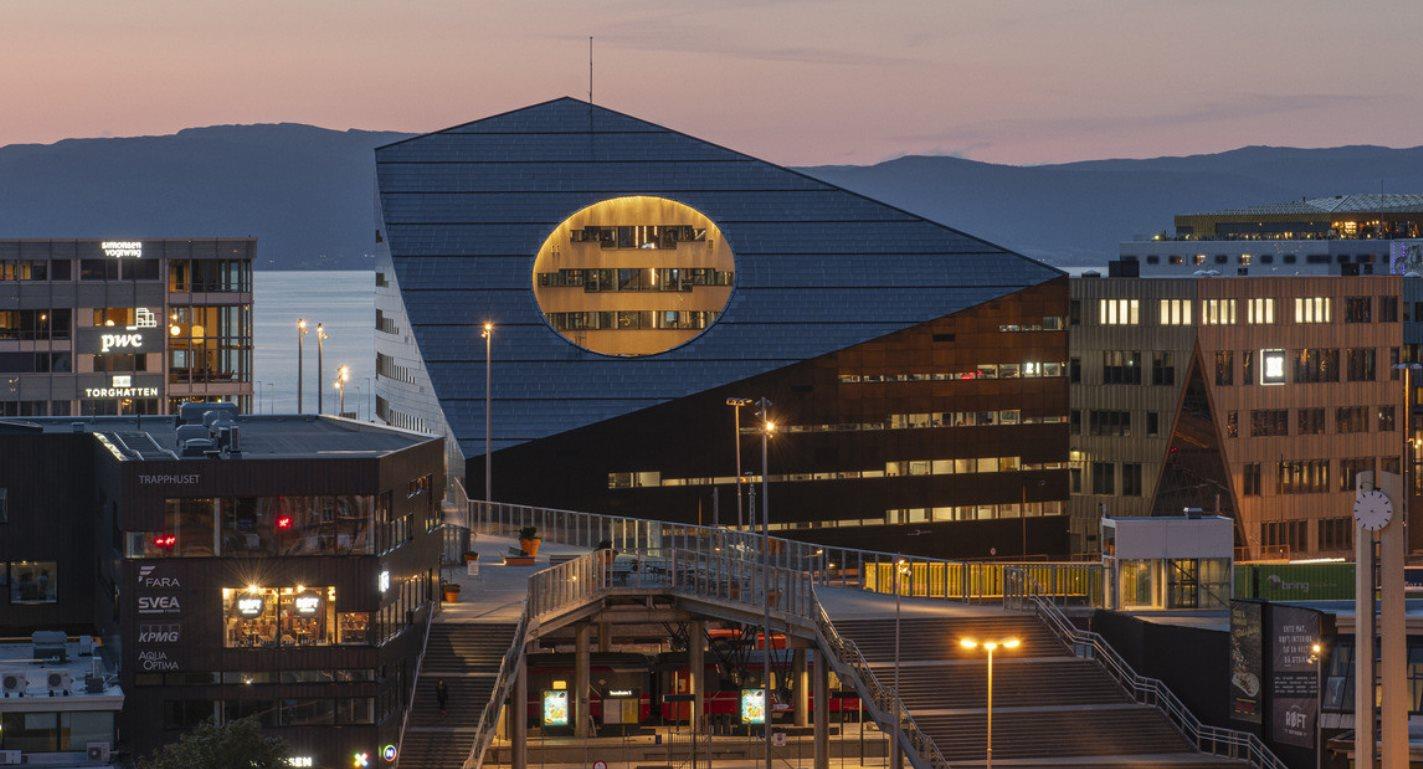 Este es uno de los edificios más ecológicos del mundo
