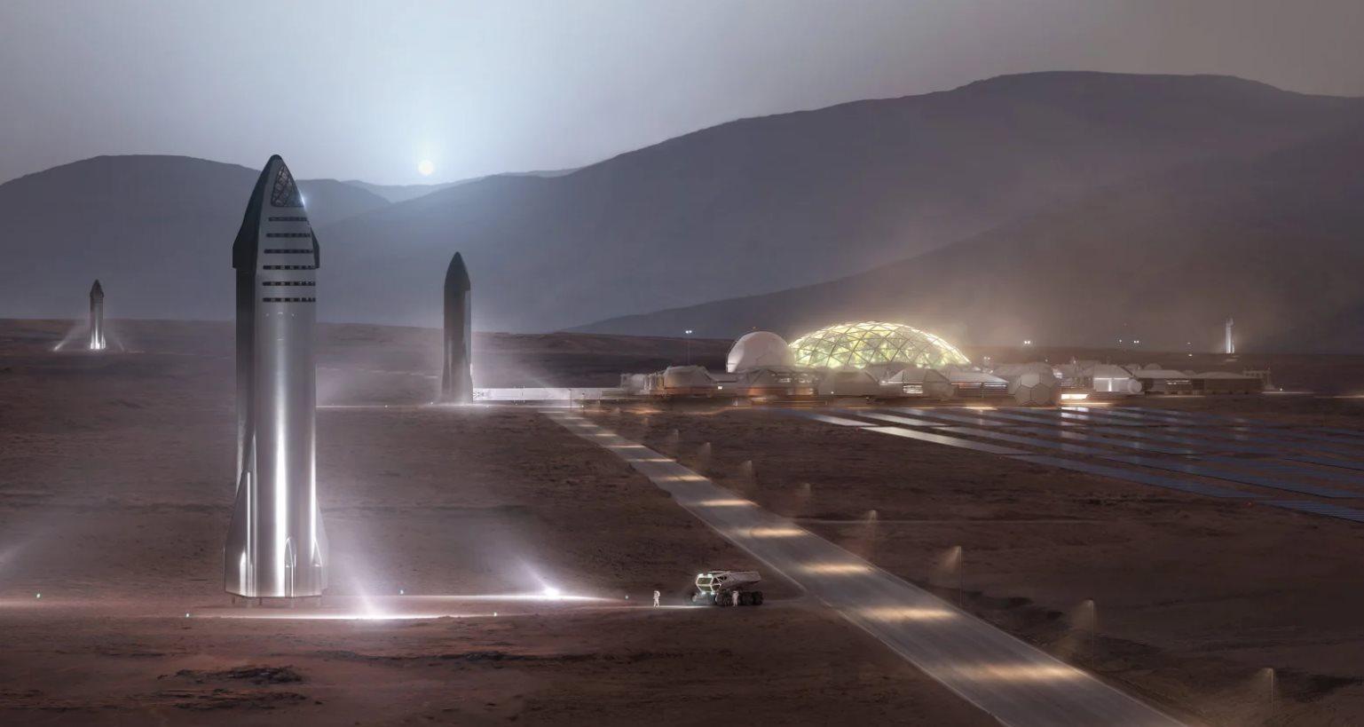 Este es el cohete que nos llevará a Marte, según Elon Musk