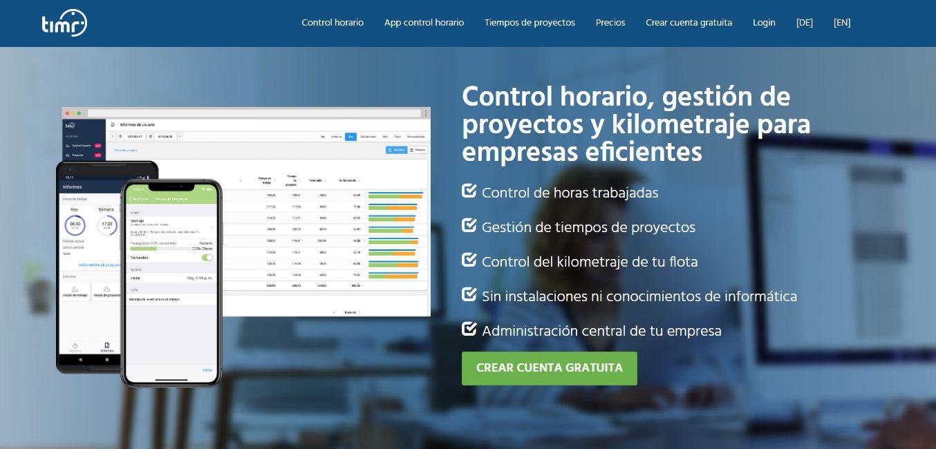 Timr lanza aplicación para control horario y tiempos de proyecto en castellano