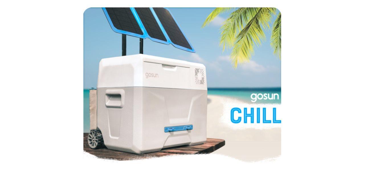 GoSun Chill, la nevera portátil con paneles solares que triunfa en Indiegogo