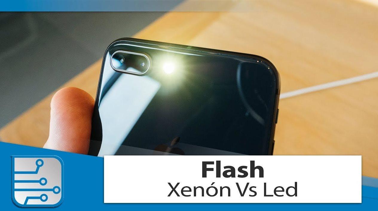Flash Xenón y Flash Led, ventajas y desventajas de cada uno en un móvil