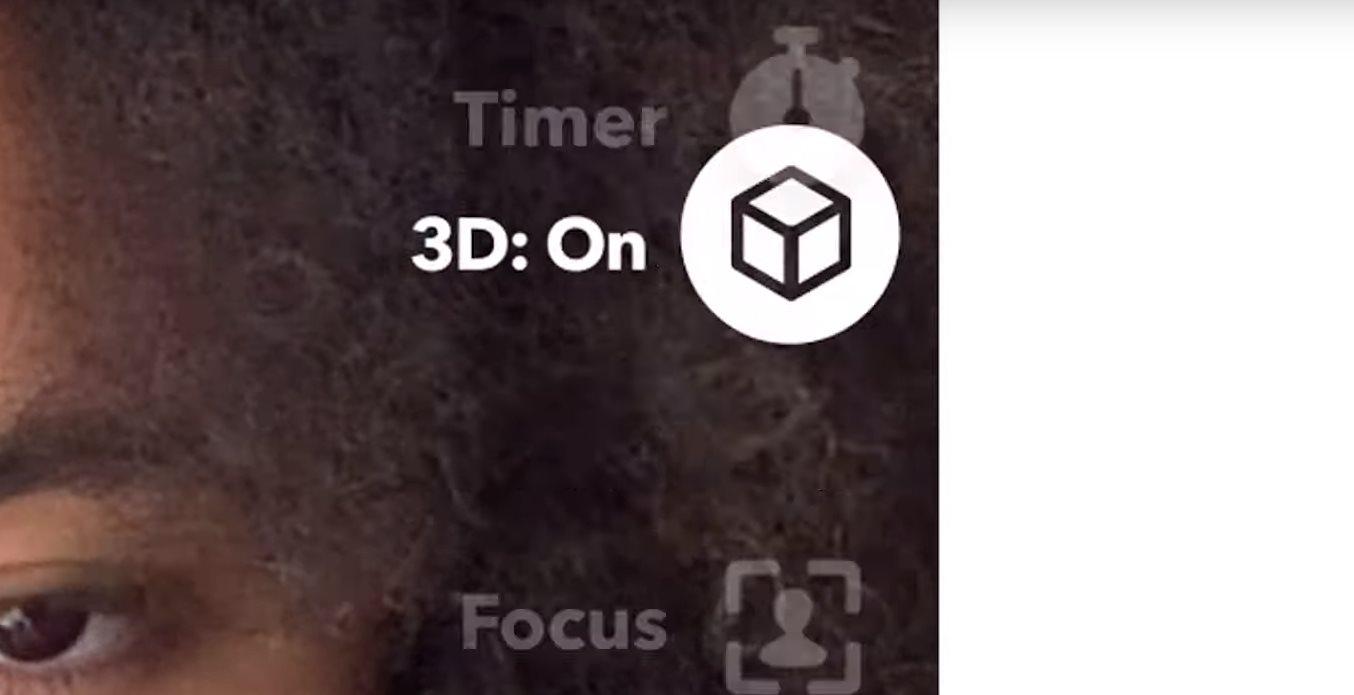 Snapchat añade filtros 3D para selfies