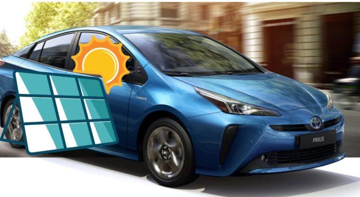Toyota trabaja en un Prius alimentado por energía solar