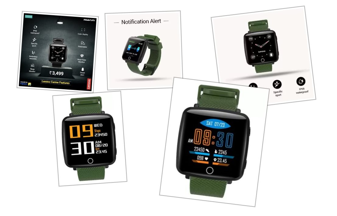 Nace un nuevo reloj inteligente de Lenovo por menos de 50 dólares
