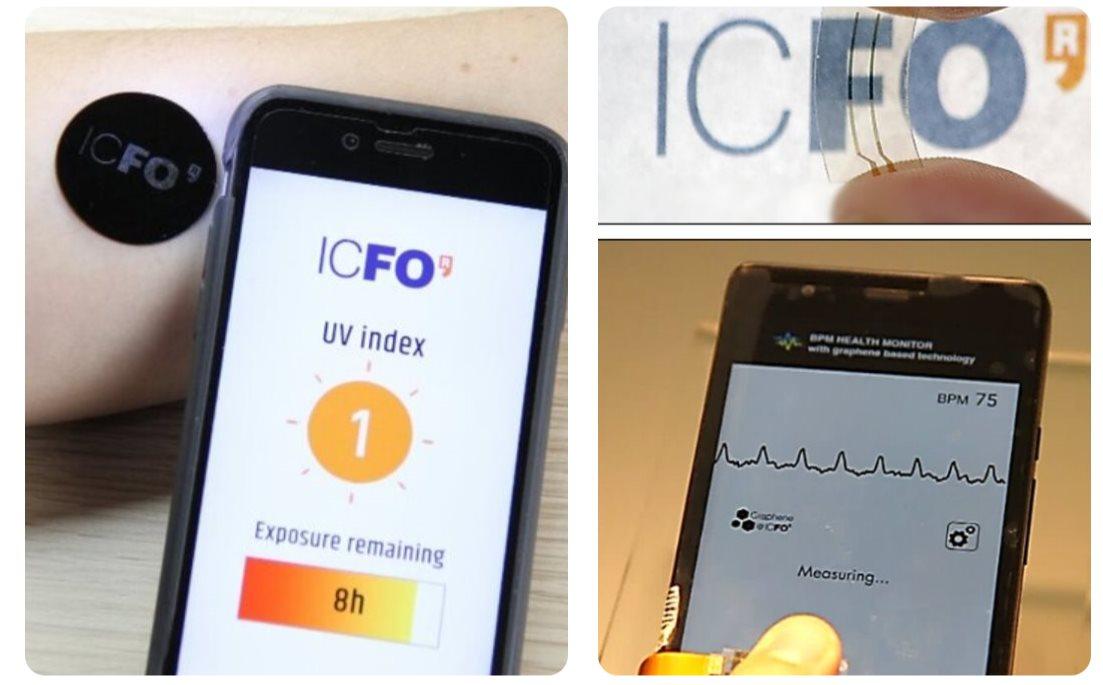 Sensores de grafeno para medir variables de nuestra salud