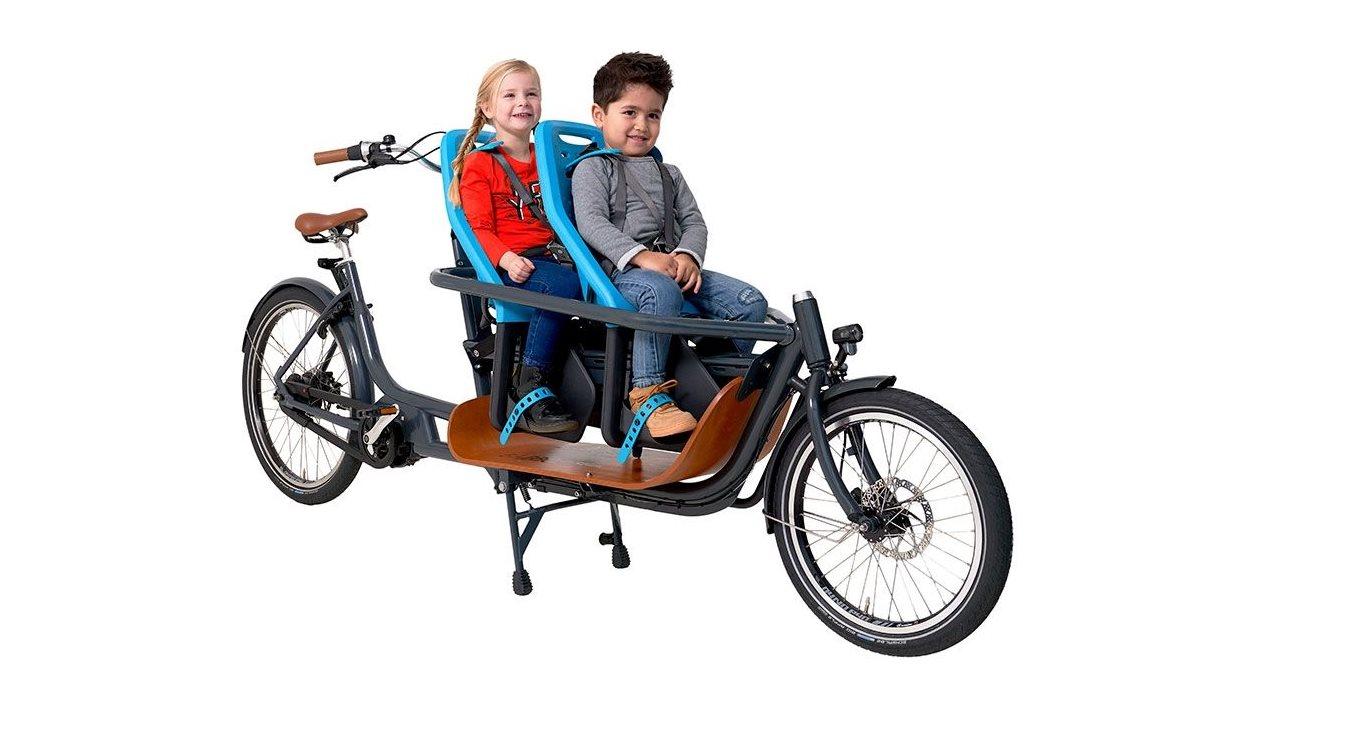 La bicicleta eléctrica pensada para llevar a niños por la ciudad