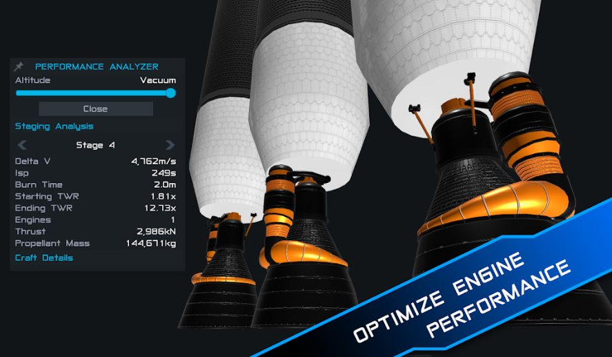 SimpleRockets 2, un simulador de cohetes, para quien quiera trabajar en la NASA
