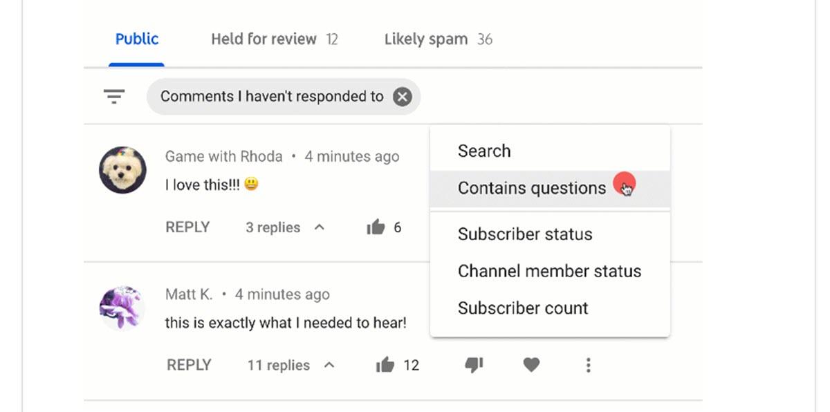 YouTube tiene un nuevo sistema para filtrar los comentarios