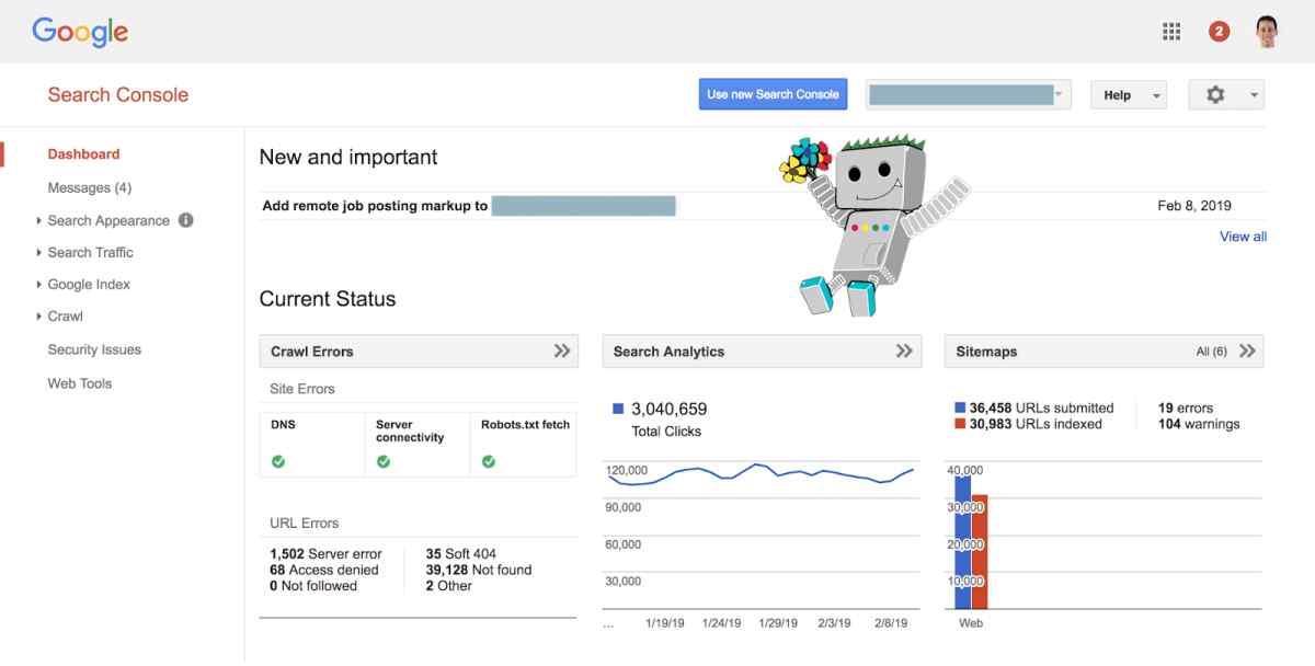 Google se despide de la versión clásica de Search Console, centrando la actividad en la versión moderna