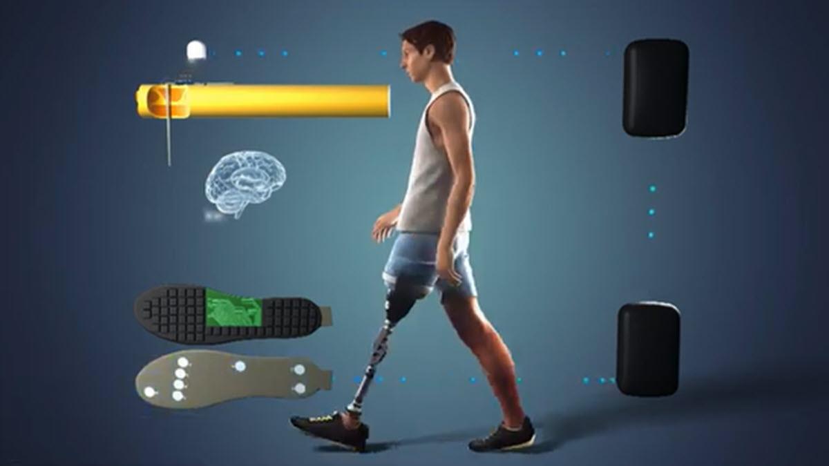 Desarrollan una pierna protésica que permite 'sentir' el pie y la rodilla